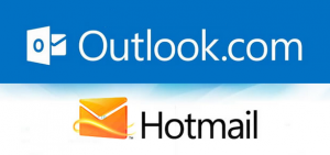 outlook or hotmail